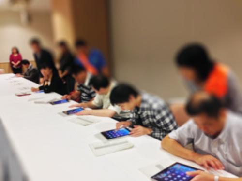 岩手県で視覚障害者向けiPad研修会を実施しました